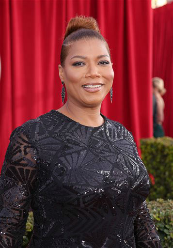 """<div class=""""meta image-caption""""><div class=""""origin-logo origin-image none""""><span>none</span></div><span class=""""caption-text"""">Queen Latifah arrives at the 22nd annual Screen Actors Guild Awards. (Photo by Matt Sayles/Invision/AP) (Photo/Matt Sayles)</span></div>"""
