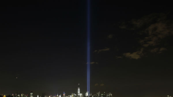"<div class=""meta image-caption""><div class=""origin-logo origin-image none""><span>none</span></div><span class=""caption-text"">The Tribute in Light rises above the New York skyline, Friday, Sept. 11, 2015 in a view from Bayonne, N.J. (AP Photo/Mark Lennihan) (AP Photo/ Mark Lennihan)</span></div>"