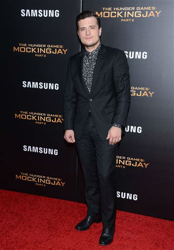 """<div class=""""meta image-caption""""><div class=""""origin-logo origin-image none""""><span>none</span></div><span class=""""caption-text"""">Actor Josh Hutcherson attends a special screening of """"The Hunger Games: Mockingjay Part 2"""" in New York.  (Photo/Evan Agostini)</span></div>"""