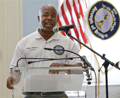 "<div class=""meta image-caption""><div class=""origin-logo origin-image none""><span>none</span></div><span class=""caption-text"">Brooklyn Borough President Eric Adams speaks during a news conference.  (AP Photo/ Frank Franklin II)</span></div>"