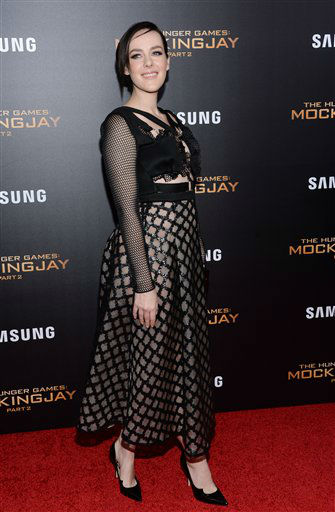 """<div class=""""meta image-caption""""><div class=""""origin-logo origin-image none""""><span>none</span></div><span class=""""caption-text"""">Actress Jena Malone attends a special screening of """"The Hunger Games: Mockingjay Part 2"""" in New York. </span></div>"""