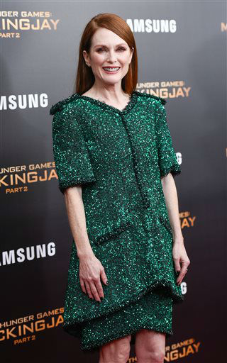 """<div class=""""meta image-caption""""><div class=""""origin-logo origin-image none""""><span>none</span></div><span class=""""caption-text"""">Actress Julianne Moore attends a special screening of """"The Hunger Games: Mockingjay Part 2"""" in New York.  (Photo/Evan Agostini)</span></div>"""
