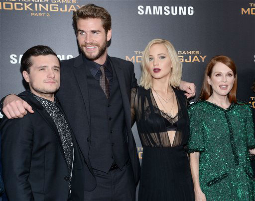 PHOTOS: On the red carpet with the cast of 'The Hunger ...