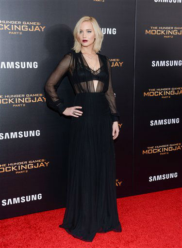 """<div class=""""meta image-caption""""><div class=""""origin-logo origin-image none""""><span>none</span></div><span class=""""caption-text"""">Jennifer Lawrence attends a special screening of """"The Hunger Games: Mockingjay Part 2"""" in New York. </span></div>"""