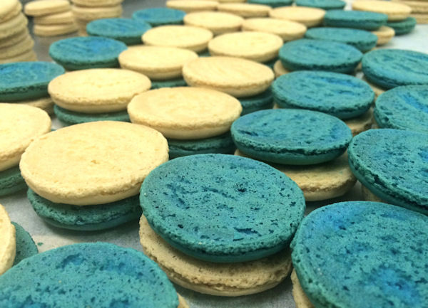 <div class='meta'><div class='origin-logo' data-origin='none'></div><span class='caption-text' data-credit='Leah Frelinghuysen'>Visitors to MacarOn Cafe will have the choice of 15 to 20 flavors at all locations. MacarOn Cafe offers up to 40 flavors</span></div>