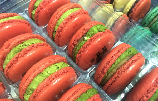 <div class='meta'><div class='origin-logo' data-origin='none'></div><span class='caption-text' data-credit='Leah Frelinghuysen'>Macaron Day has introduced the French macaron to New Yorkers</span></div>