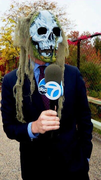 <div class='meta'><div class='origin-logo' data-origin='WABC'></div><span class='caption-text' data-credit=''>Here's reporter NJ Burkett getting ready for a Halloween live shot.</span></div>