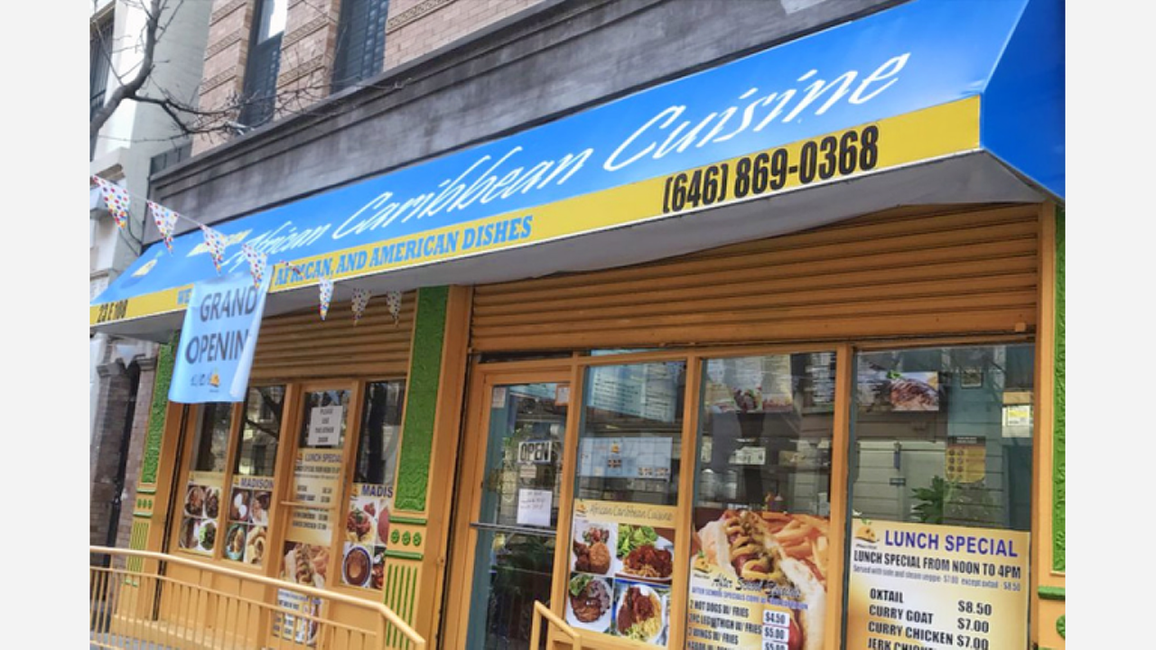 New African Spot 'Madison African Caribbean Cuisine' Debuts In East Harlem
