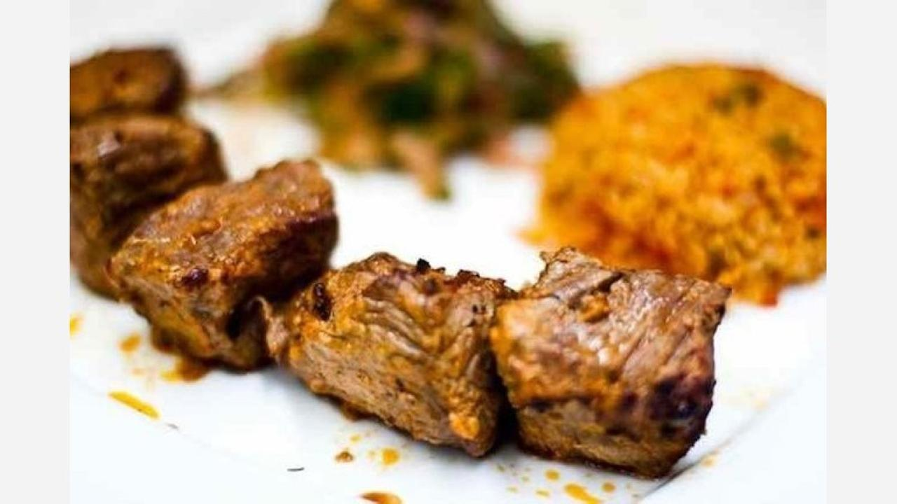 Lamb shish kebab. | Photo: Turkuaz/Yelp
