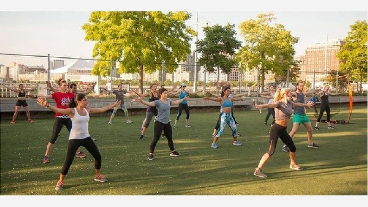 Lululemons free HIIT class | Photos: Eventbrite