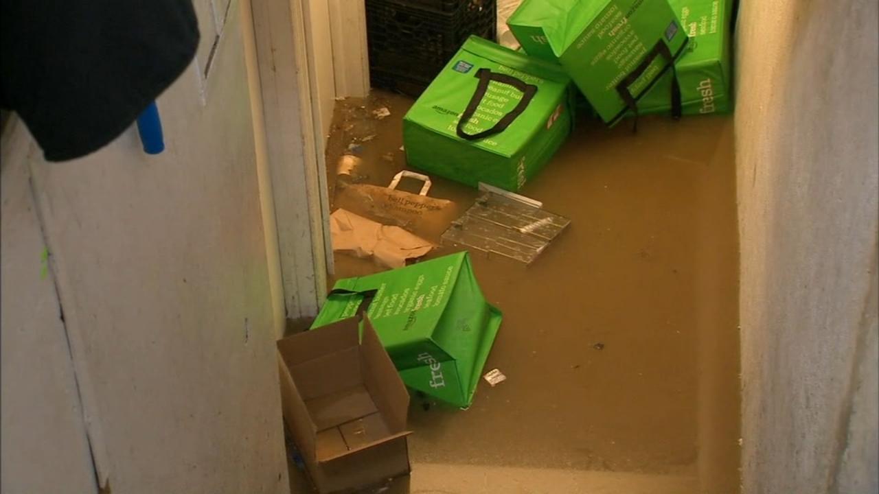 Emergency Crews On Scene Of Water Main Break In Jackson Heights, Queens
