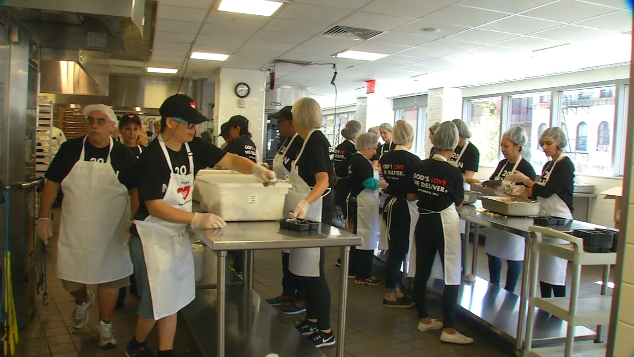 Thursday As Employees And Volunteers Cooked Plated And Packaged They Hit A Milestone