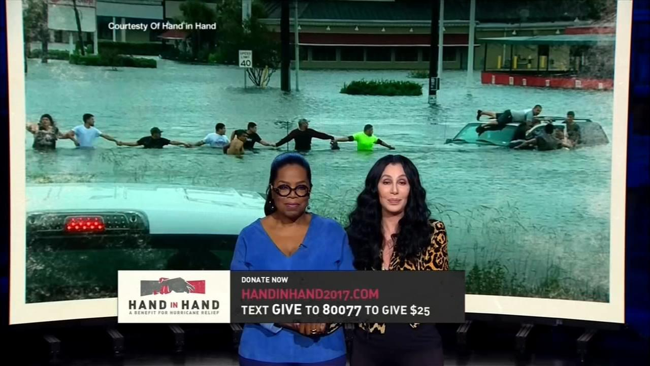 Beyonce, Barbra Streisand headline hurricanes Harvey, Irma relief telethon