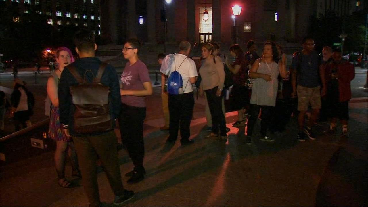 Protest for transgender rights held in Foley Square