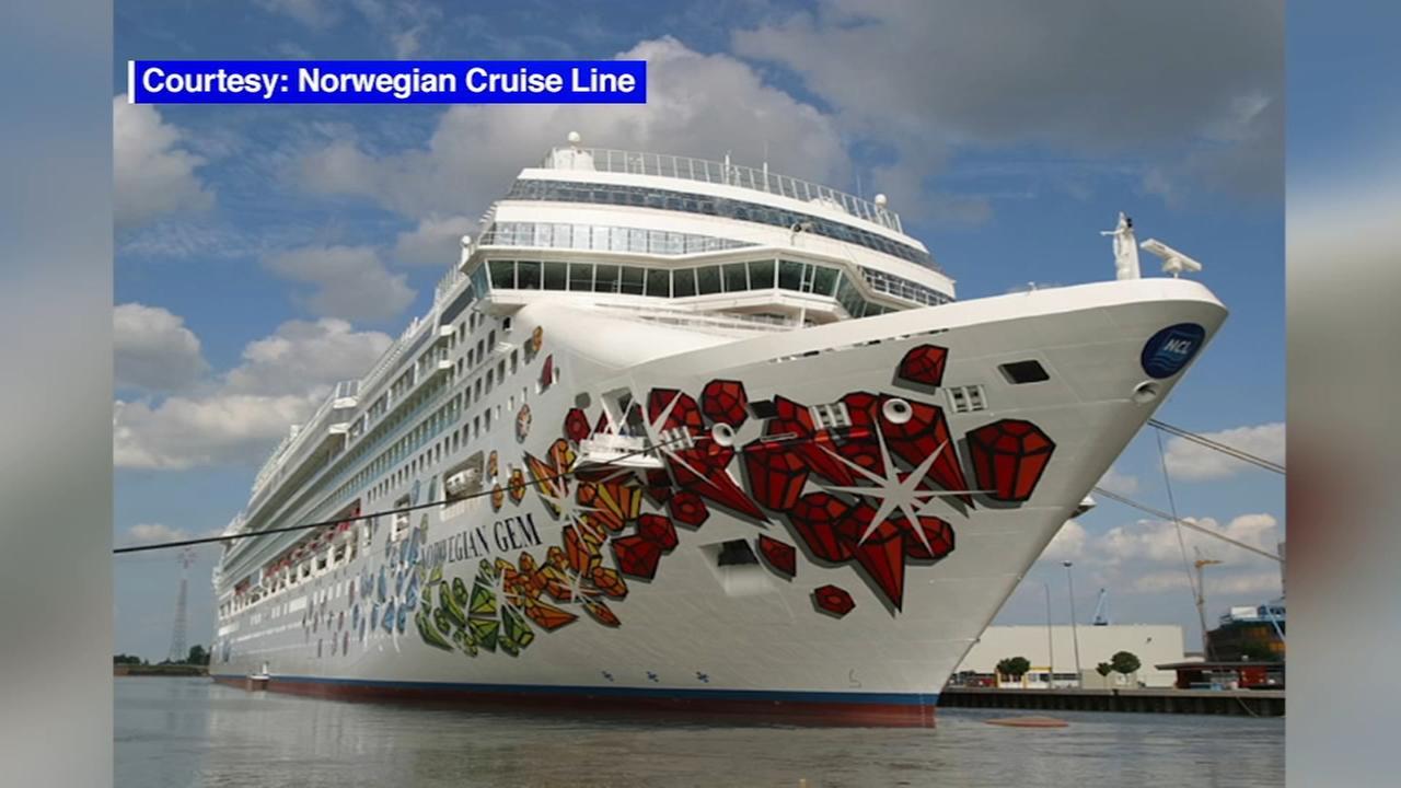 Norwegian Gem Passengers Stranded In Newark New Jersey Abcnycom - Norwegian gem cruise ship