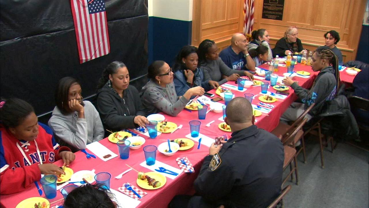 It's an early Thanksgiving for dozens of families in the Bronx