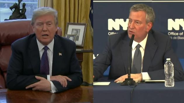 Mayor de Blasio backs out of mayors' meeting with President Trump after sanctuary cities announcement