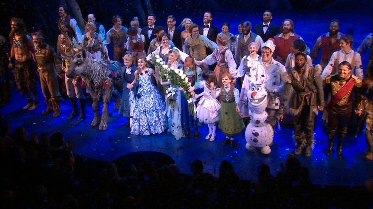 'Frozen: The Musical' moves from the big screen to Broadway