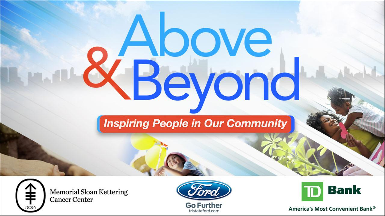 Above and Beyond: Nominate someone today!