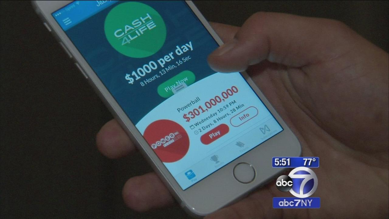 New app jackpot buys lottery tickets from your phone