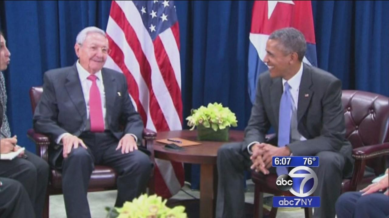 US, Cuba leaders meet for second time this year at United Nations