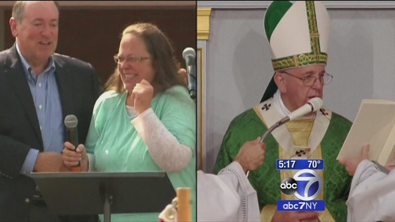Kentucky clerk Kim Davis describes private meeting with Pope Francis