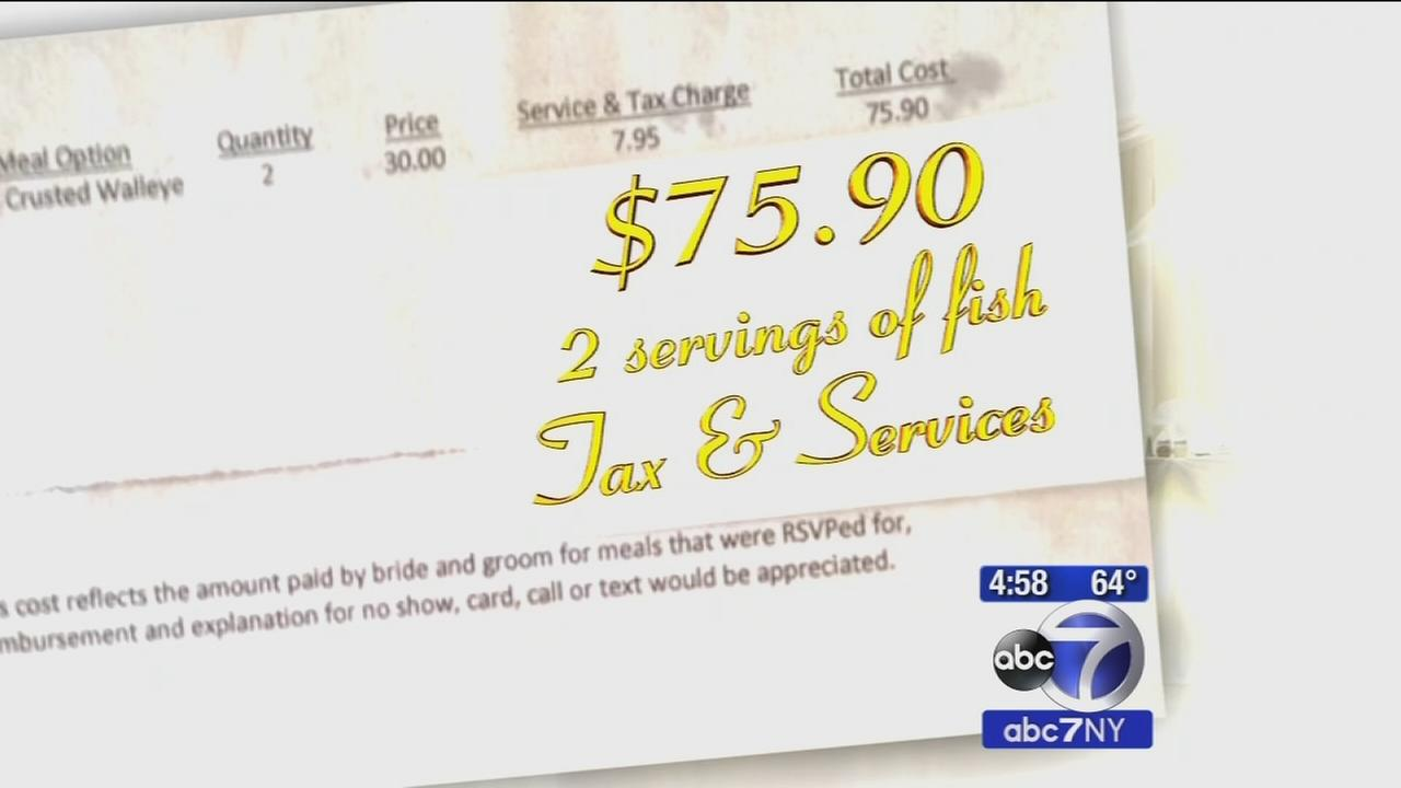 Couple billed by newlyweds for missing family wedding