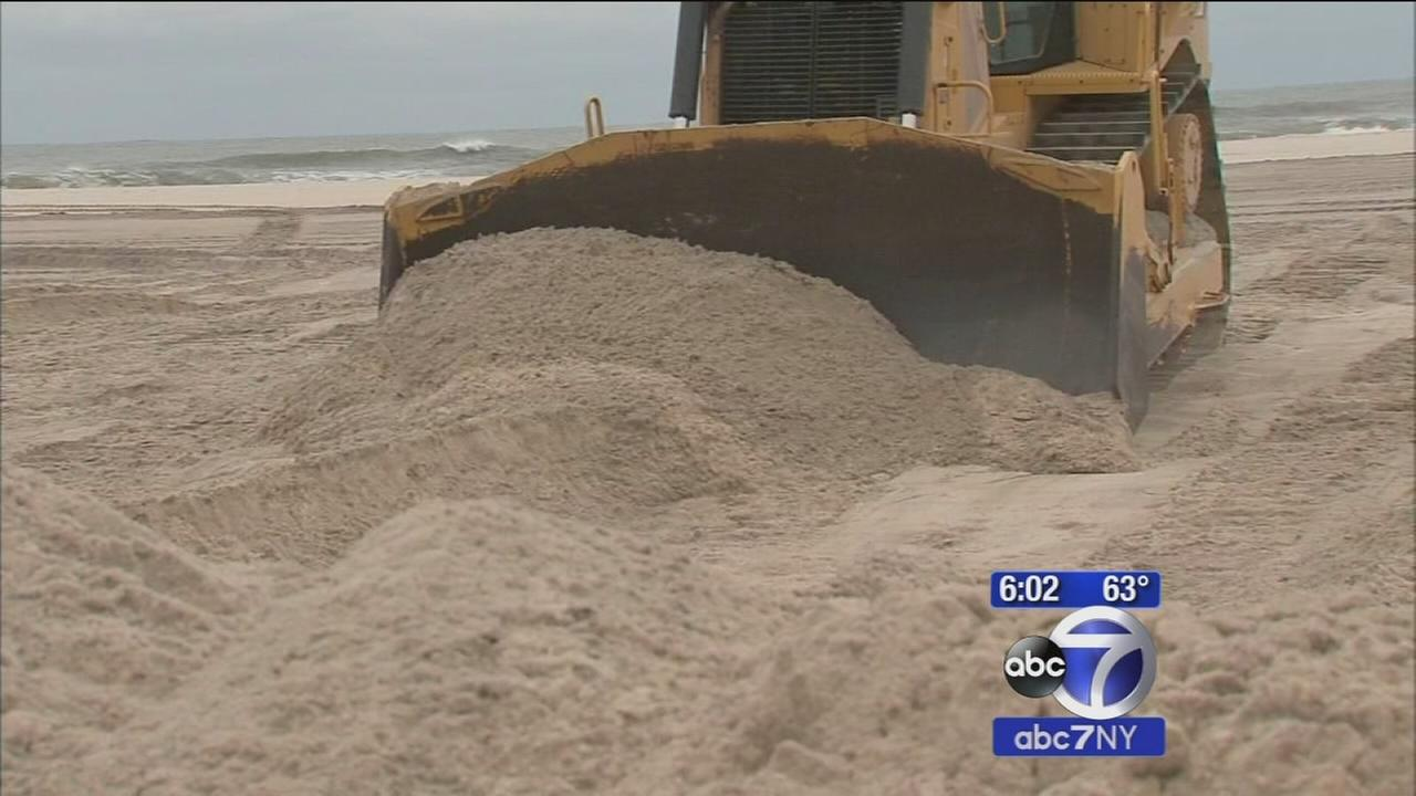 LI beach areas brace for storm