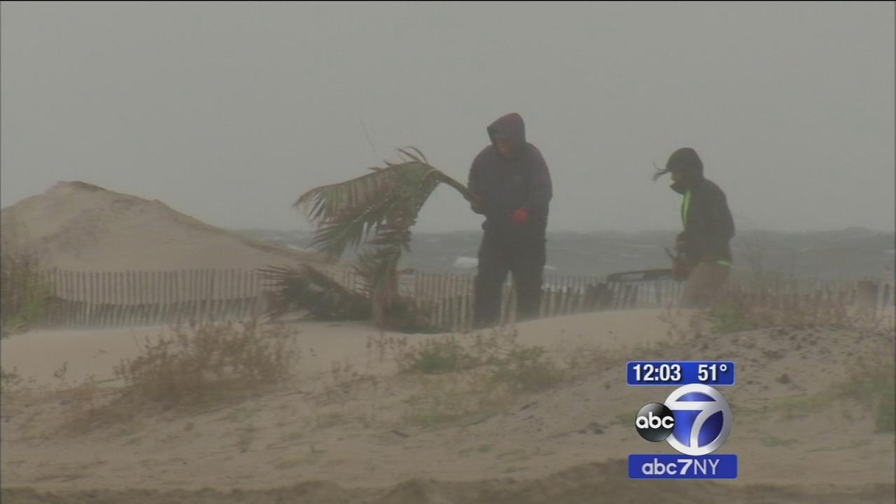 Jersey Shore bracing for wind, rain