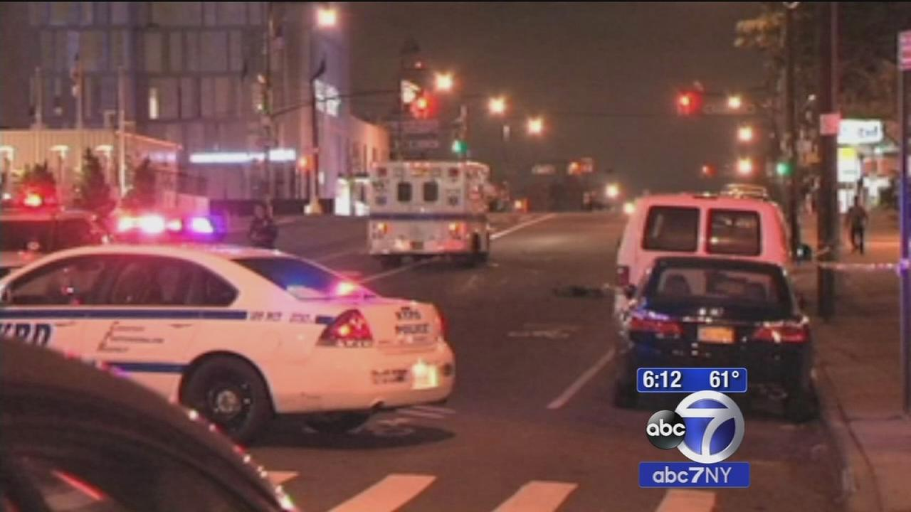 Police search for driver in College Point hit and run
