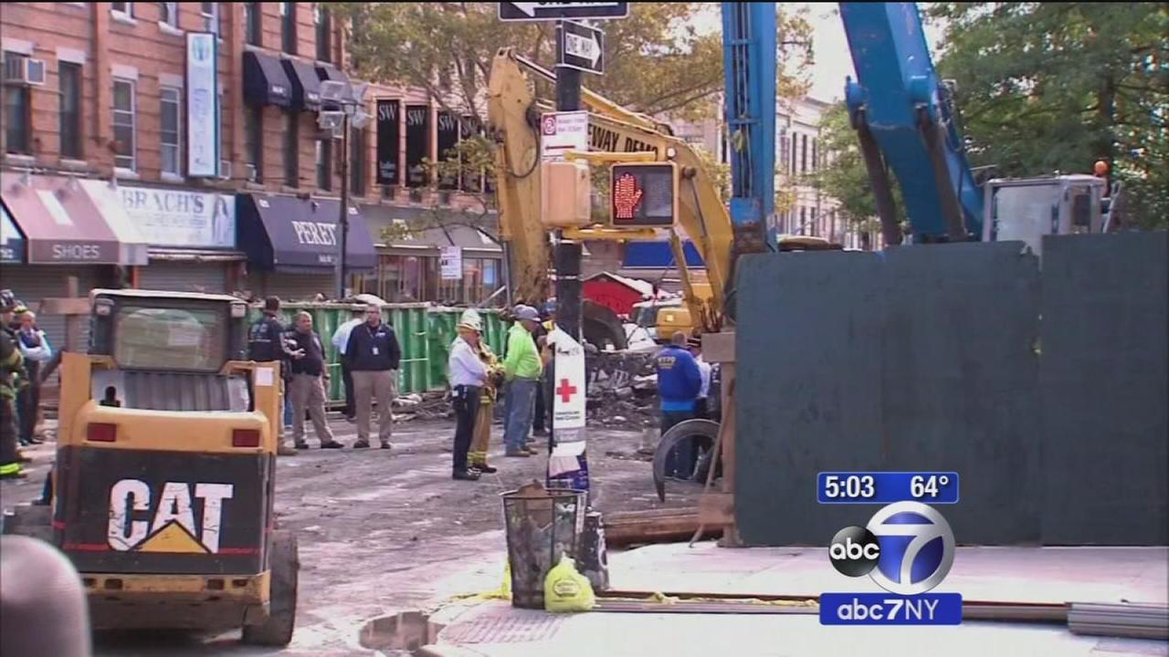 Second body found in rubble of Brooklyn explosion; victims relative talks exclusively to Eyewitness News