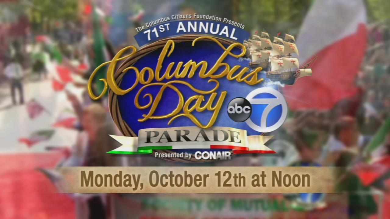 The 71st Annual Columbus Day Parade