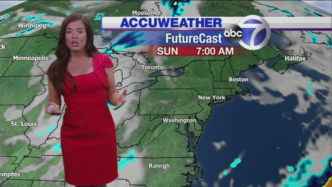AccuWeather: Sunny and warm Sunday