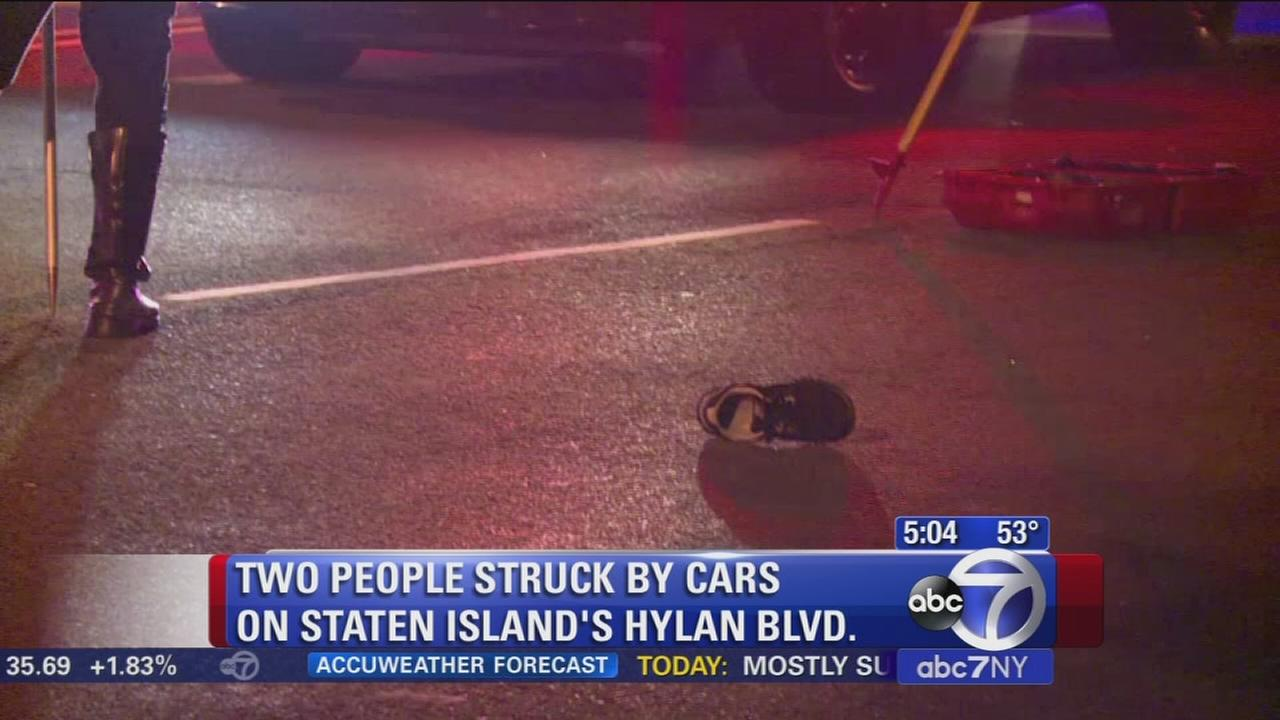 2 pedestrians hit on Hylan on Staten Island