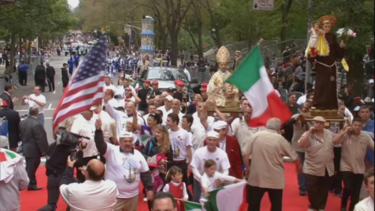 Message from Columbus Day Parade Grand Marshal