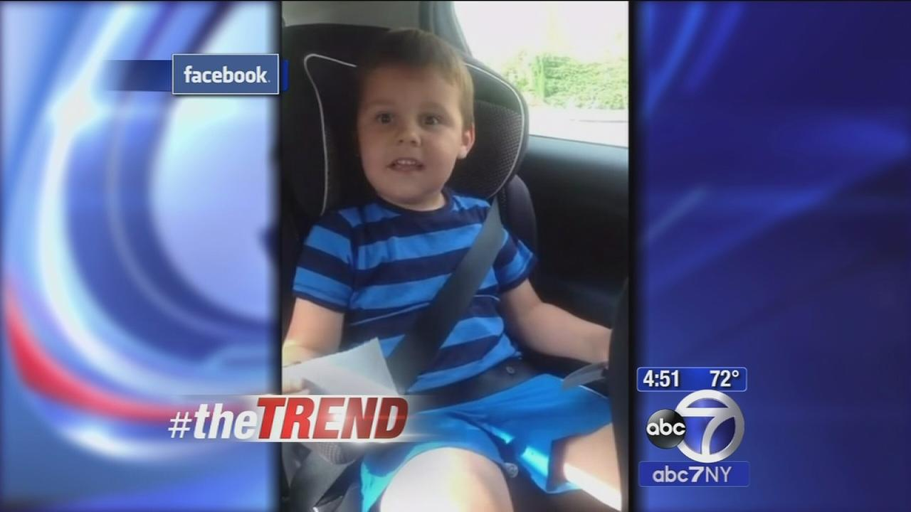 The Trend: Kids adorable reaction to news hell be a big brother!