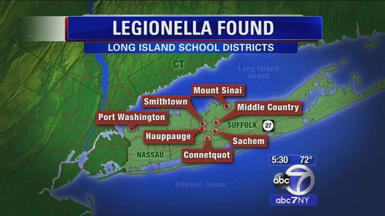 Colling towers at 7 Long Island school districts test positive for legionella bacteria
