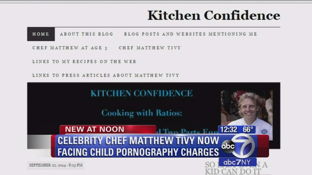 Celebrity chef arrested for child porn