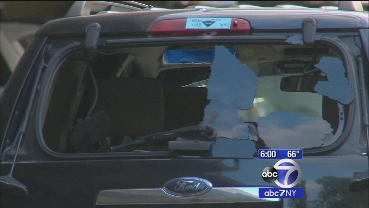 4 arrested after NYPD cruiser shot up in Brooklyn; 1 suspect wounded