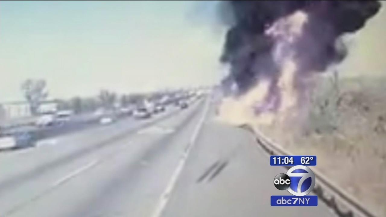 Identity of driver released in NJ Turnpike tanker crash