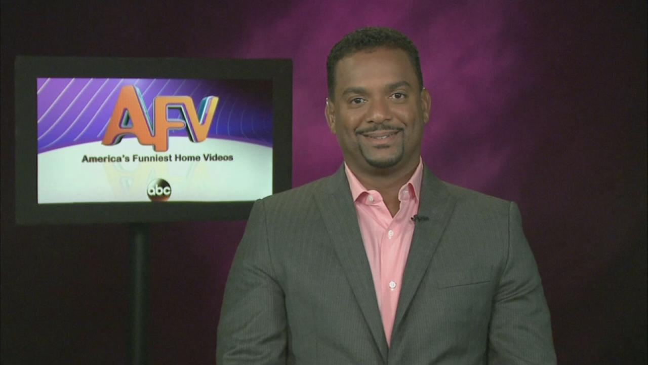 Alfonso Ribeiro talks about hosting AFV