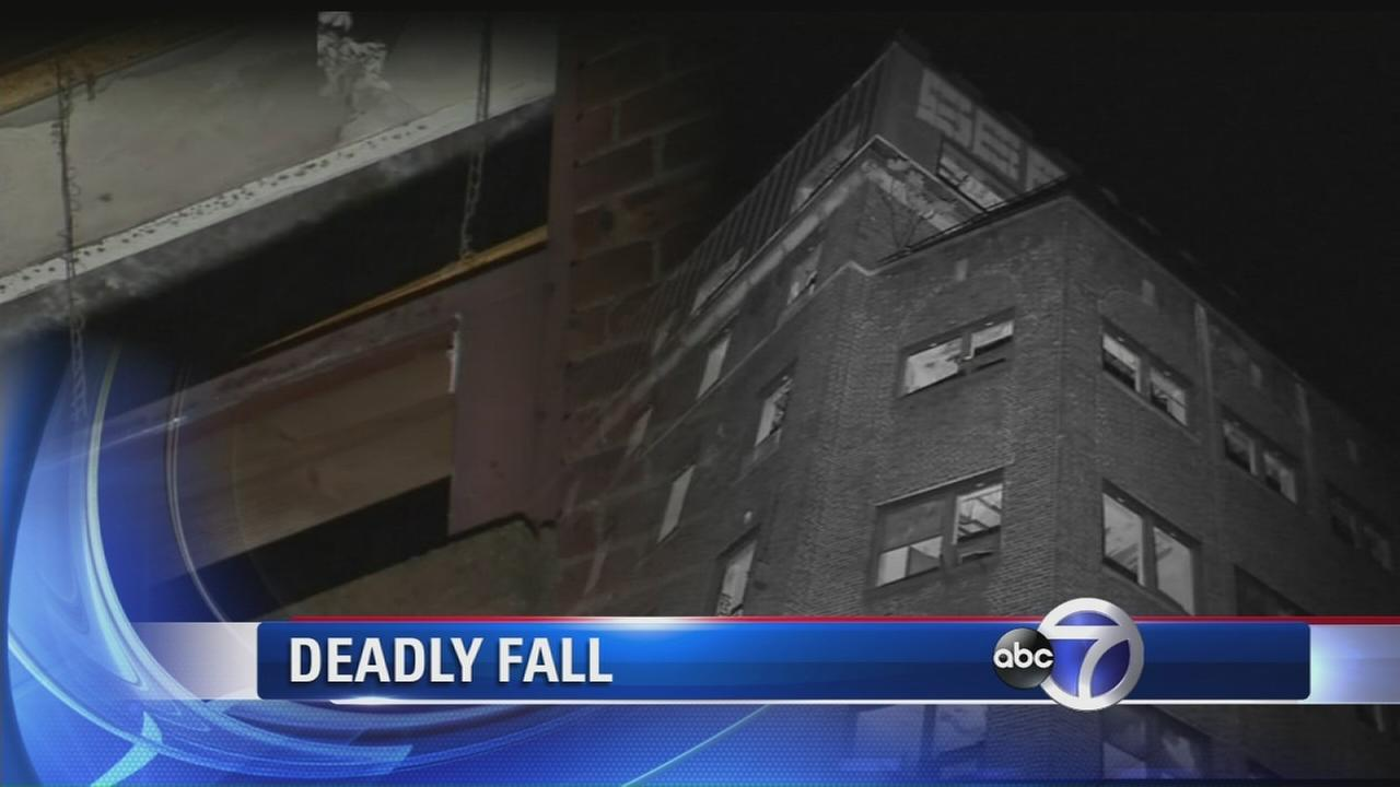 Teen dies after falling down elevator shaft in abandoned building