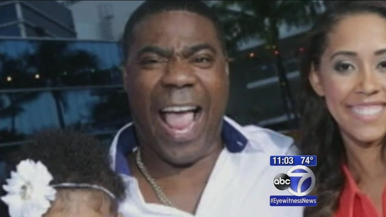 Encouraging news for Tracy Morgan after crash
