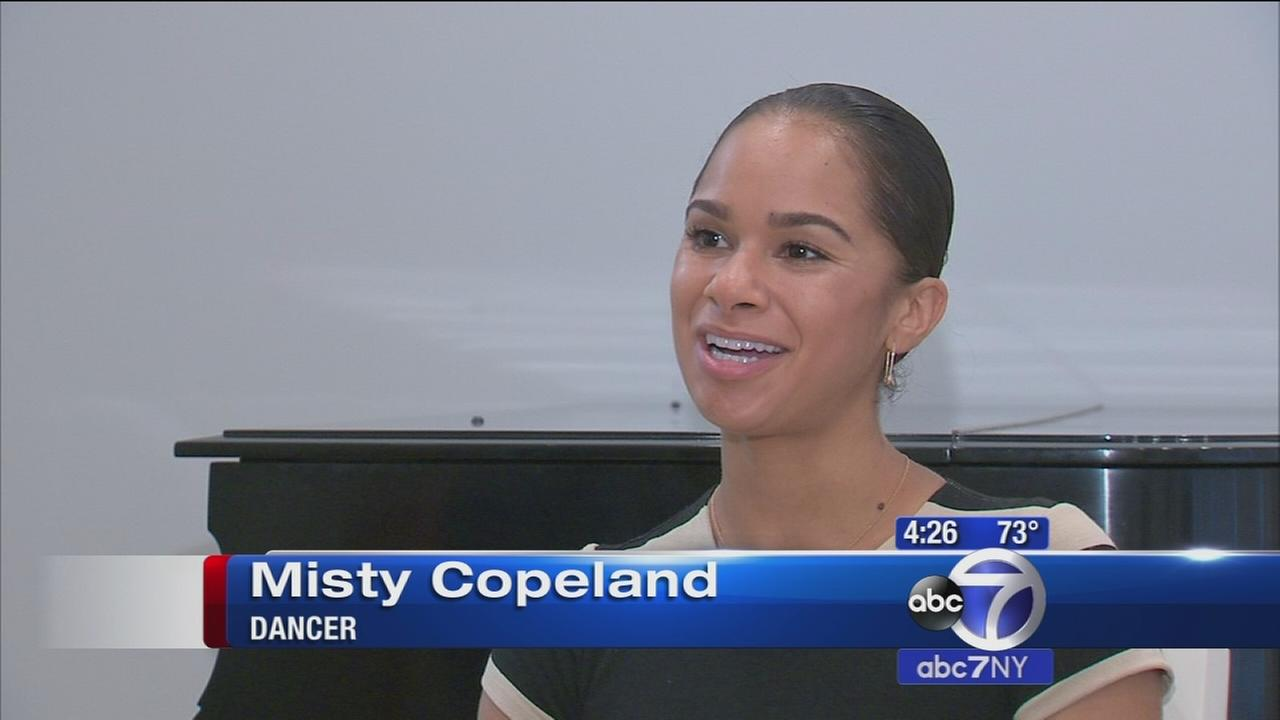 Backstage with Sandy: Misty Copeland