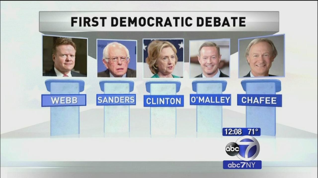 Dem candidates prep for Vegas debate tonight