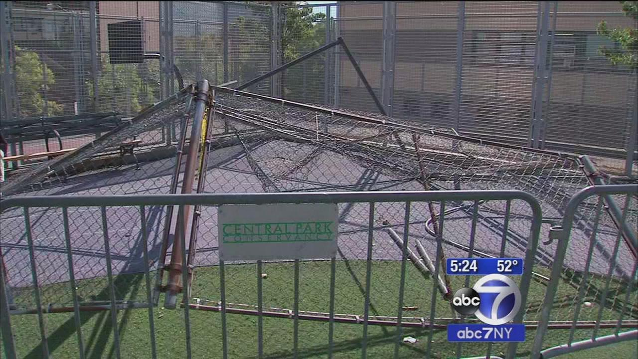 7 On Your Side: Battered batting cage causes safety concerns