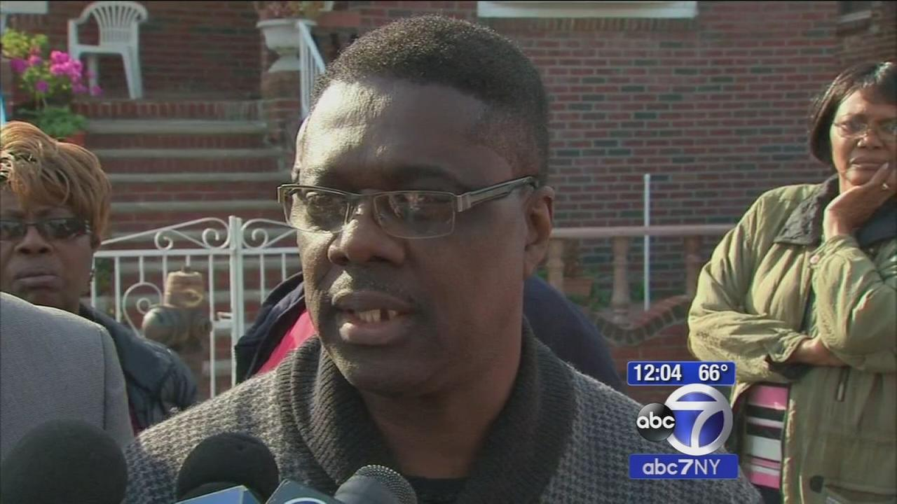 Father of officer Randolphm Holder mourns loss