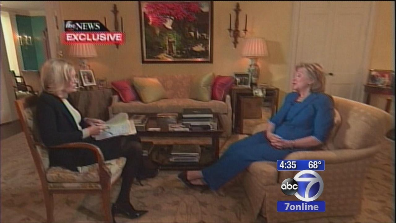 Hillary Clinton answers presidency rumors in interview