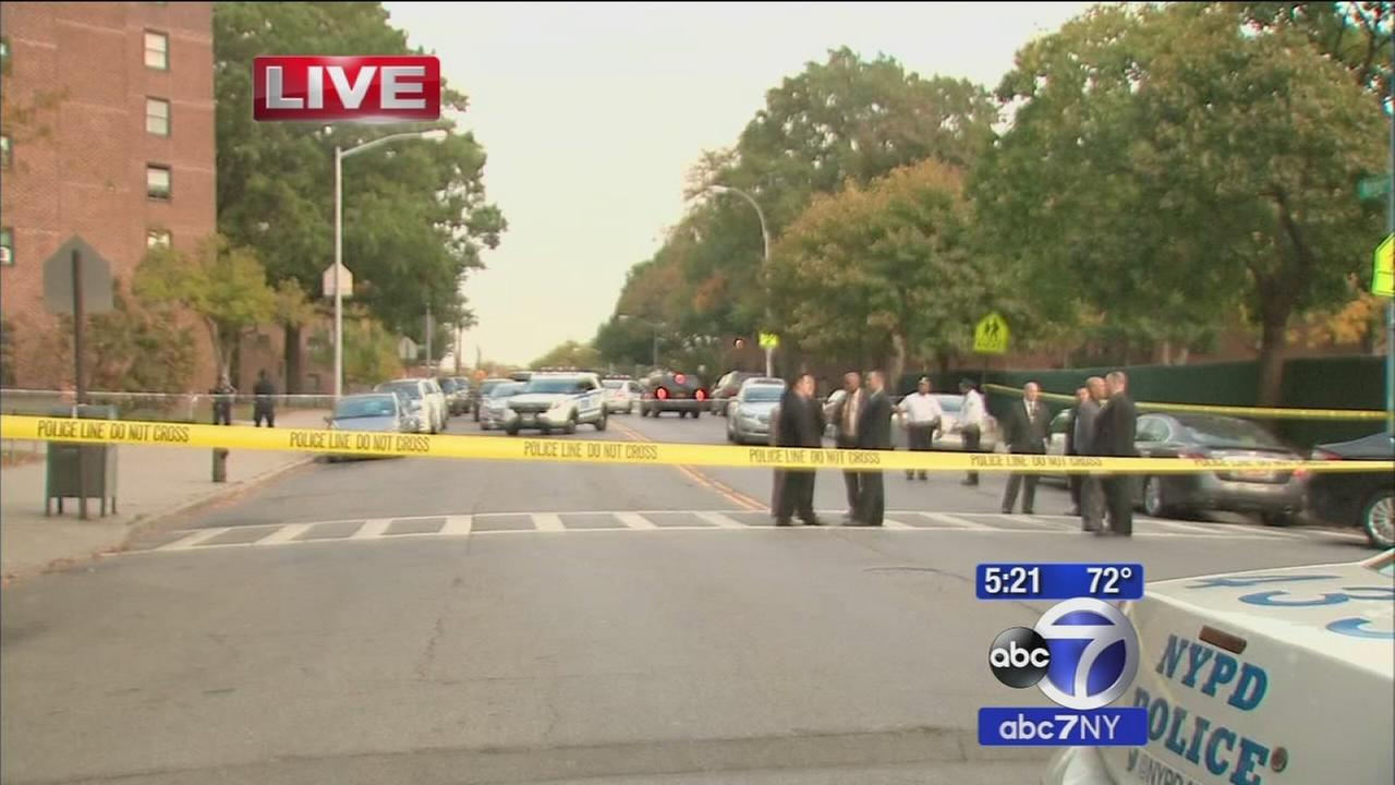 Woman shot and killed near schools in the Bronx