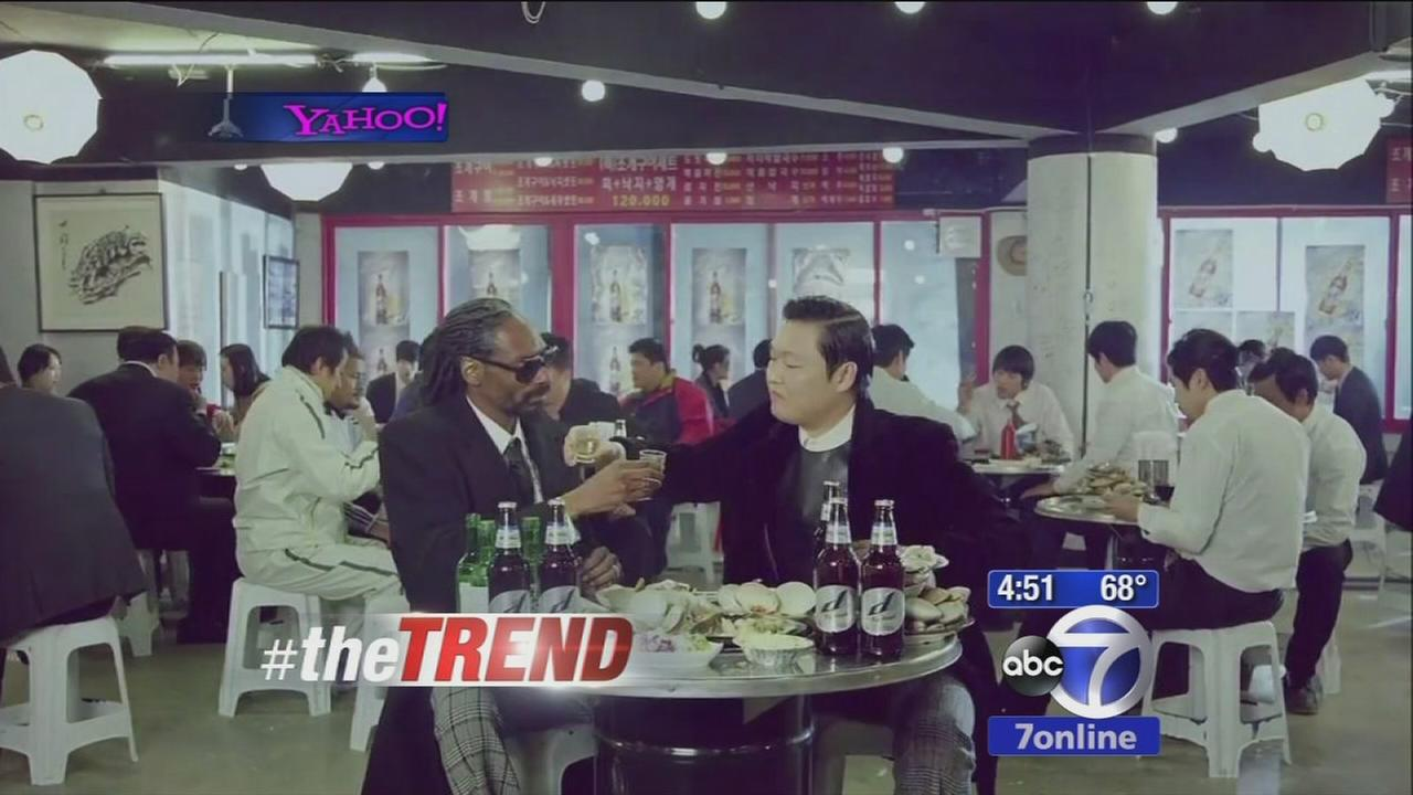 Psy hopes to go viral again with Snoop Lion collaboration